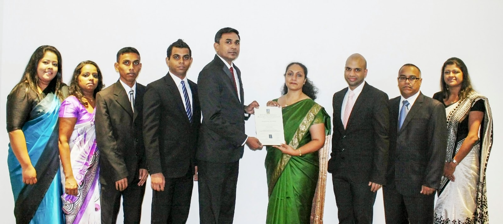 Ayesha Ediriwickrema - Assistant Manager - Human Resources, Thushari Chandima - Senior Executive Finance, Senaka Chathuranga - Assistant Accountant, Chamara Jayan – Quality & Information Security Lead, Dilush Perera – Director Operations, Shyama Wijayathunga - Manager Business Development - DNV Business Assurance Lanka Pvt Ltd, Akshay Hirdaramani - Director/CEO, Hariharan Padmanaban - Director - Business Development, Yashika DeSilva - Assistant Manager - Project Management.