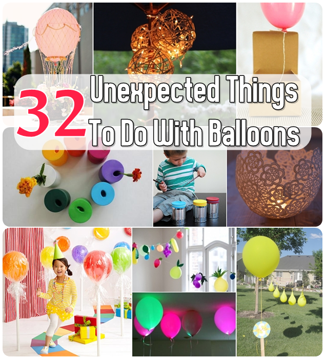 32 unexpected things to do with balloons the idea king