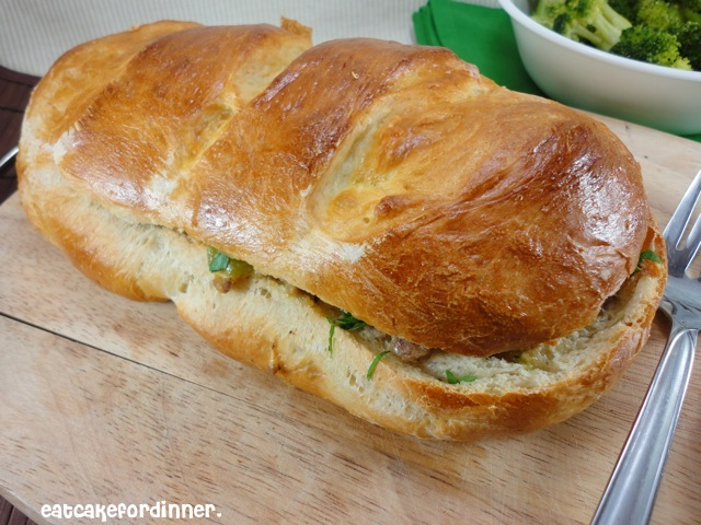 Eat Cake For Dinner: Stuffed French Bread