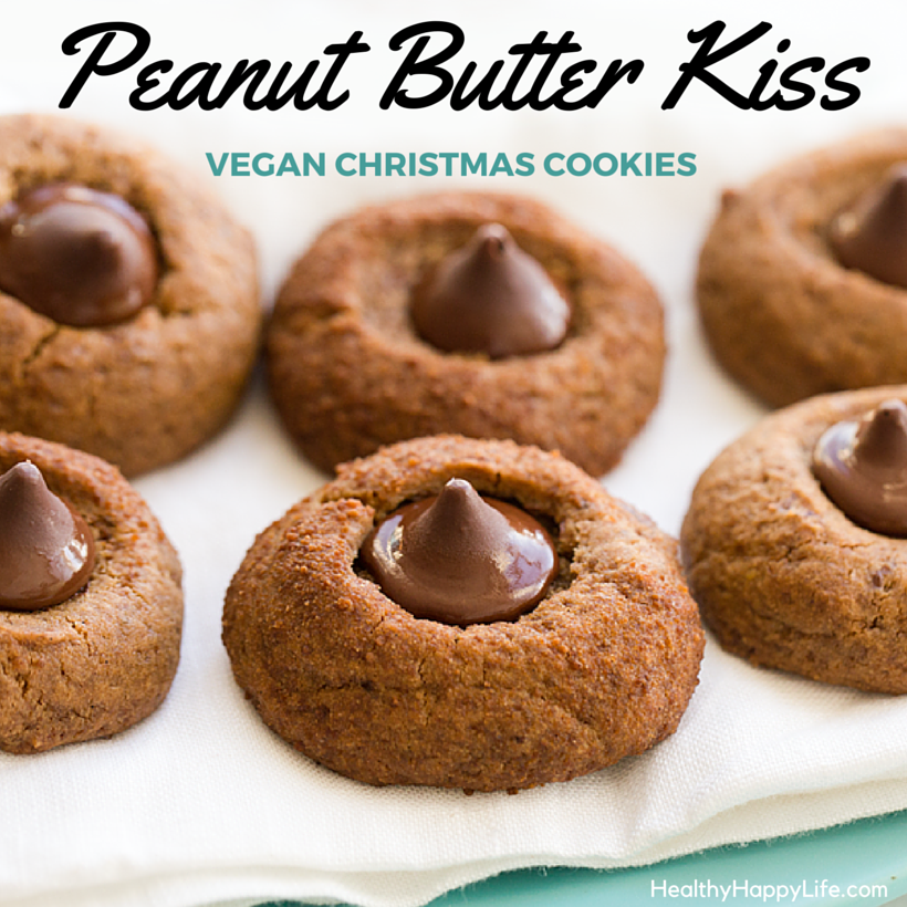 i might even have a cup of cocoa this afternoon so in the name of the holiday season turn up the cozy in your house these cookies can definitely help - Christmas Peanut Butter Cookies