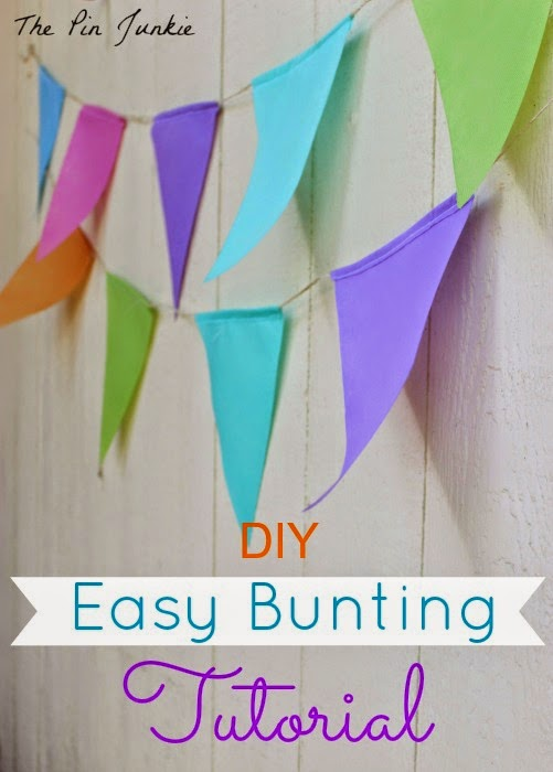 Easy Bunting Tutorial