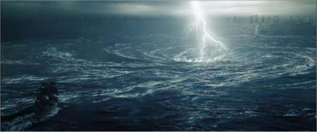 Kejadian Aneh dan Misterius di Laut