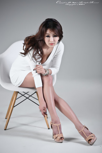 2 Seo Yoon Ah in White -Very cute asian girl - girlcute4u.blogspot.com