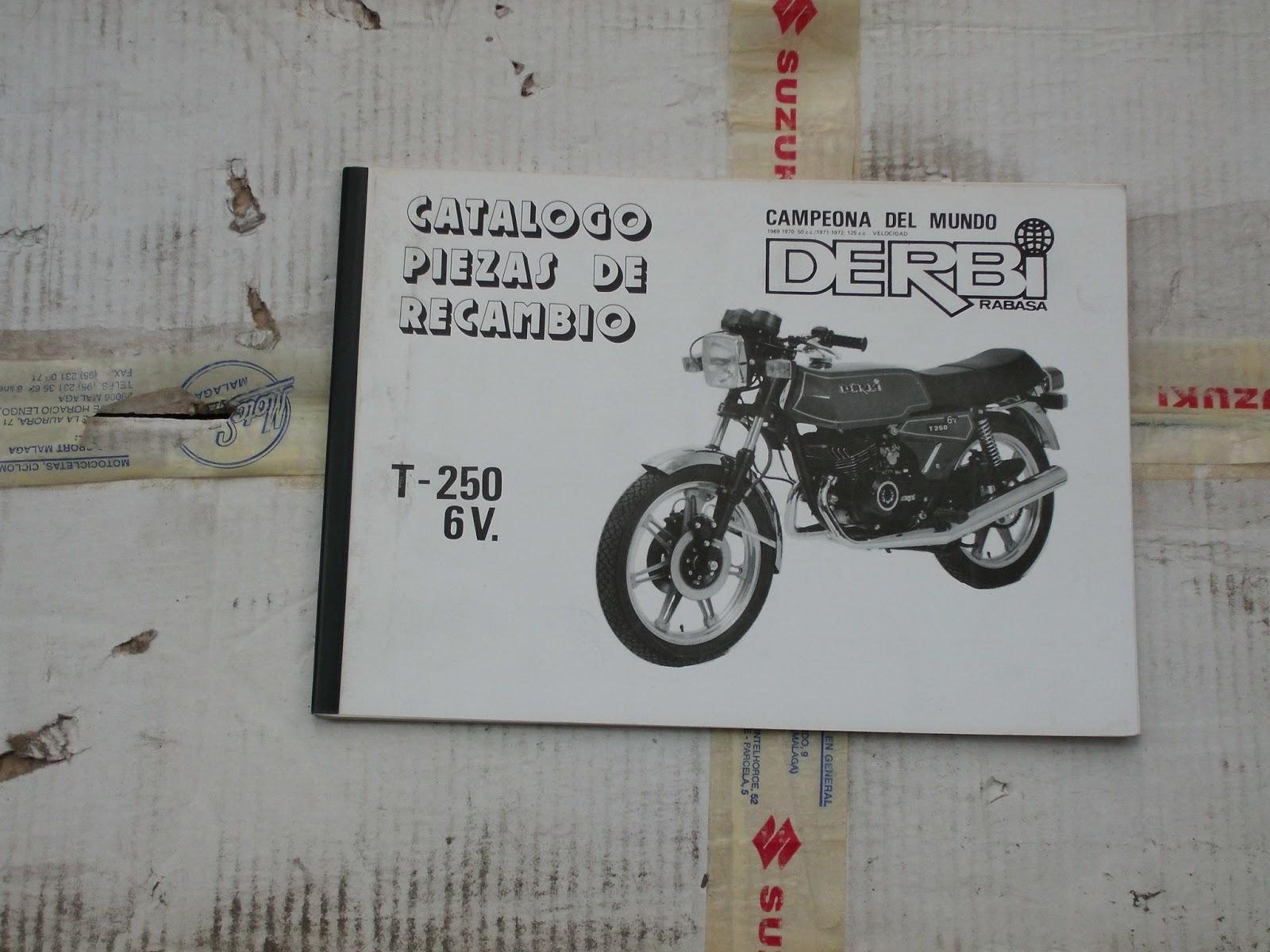 Recambios hermanos barroso catalogos de motos for Catalogo derbi