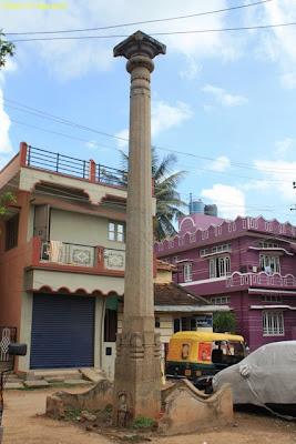 Garud Khamba, Chennakeshava Temple in Bangalore