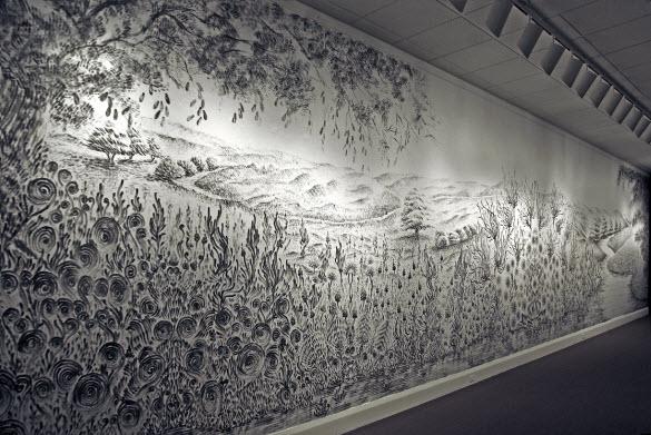 L'art de peindre avec les doigts par Judith Braun