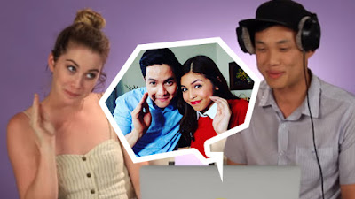 americans react aldub buzzfeed 20151031 Curious: Find out how the Americans react to the phenomenal #AlDub love team!