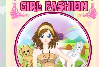 Permainan Berpakaian Girl Fashion