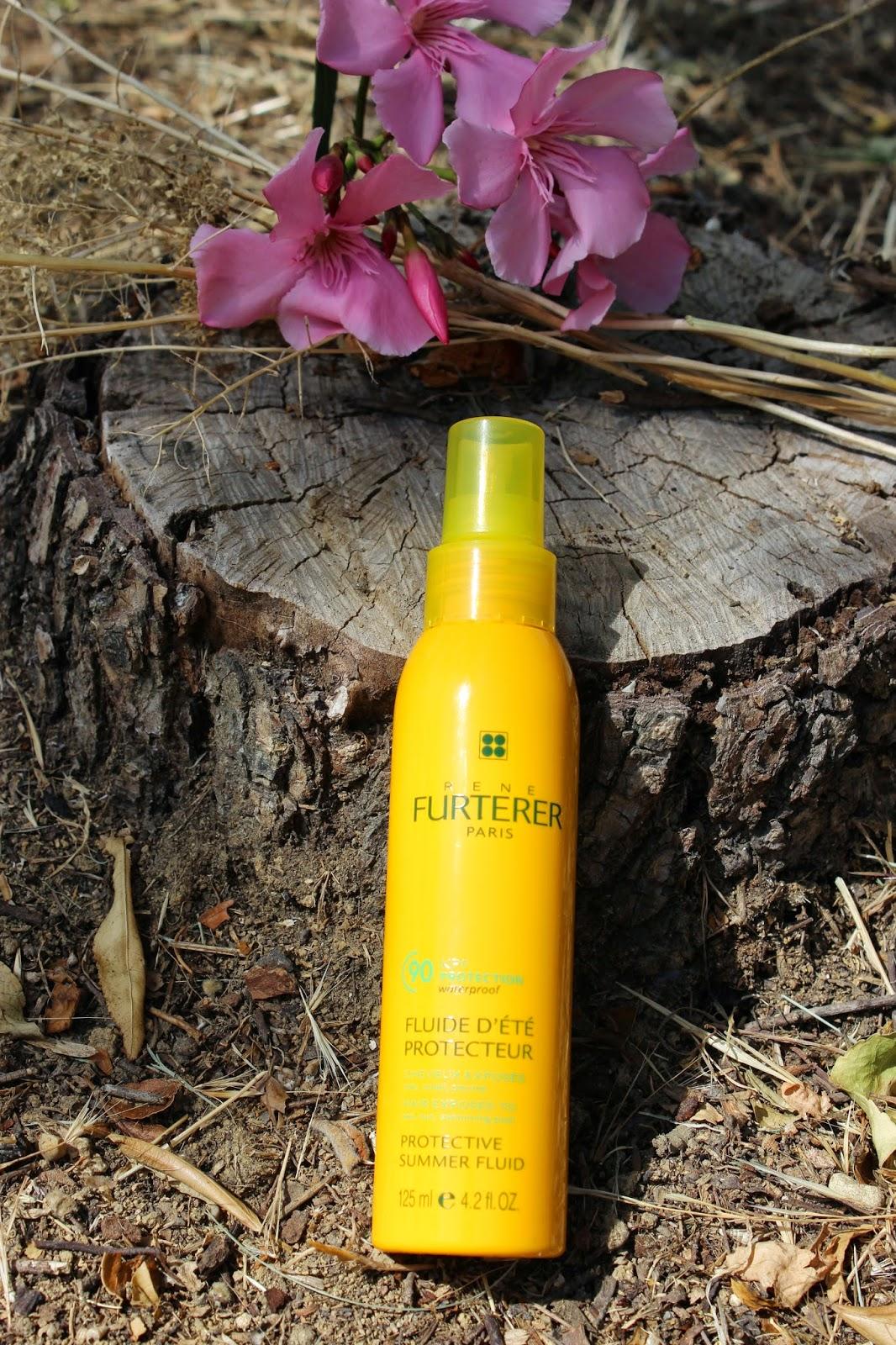 René Furterer, fluide d'été protecteur,  protection cheveux, protection solaire, capillaire