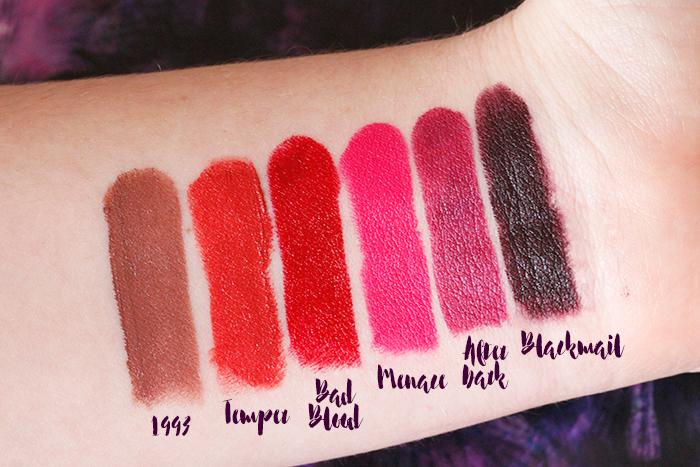 Matte & Creamy: Urban Decay Matte Revolution Lipsticks