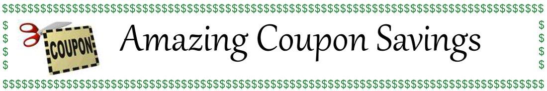 Amazing Coupon Savings