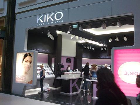 kiko cosmetics in America