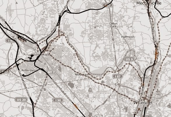 open railway map