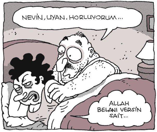 Horlama Karikatürü