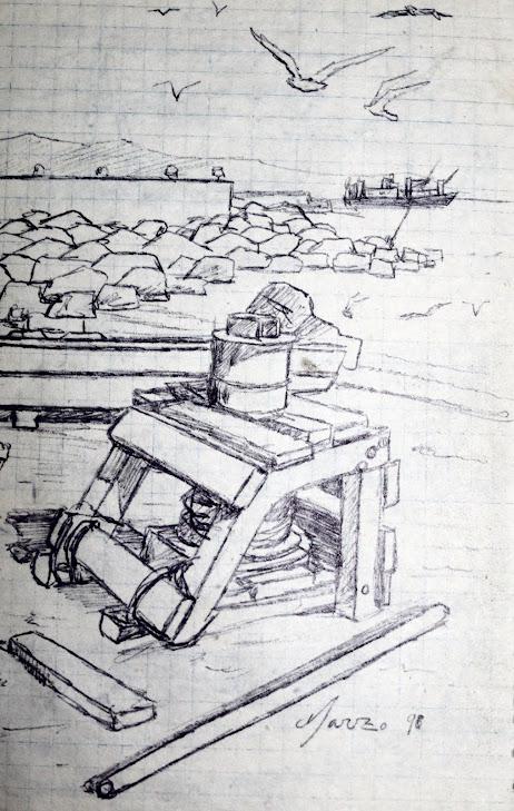 Tiro de barca antiguo