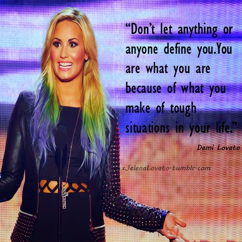 Maybe our favorite quotations say more about us than about the albums by demi lovato unbroken dont forget here we go again and her newest one demi voltagebd Gallery