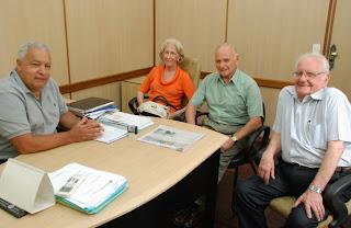 Secretário Municipal de Governo de Teresópolis recebe visita de ex-diretor da Sudantex