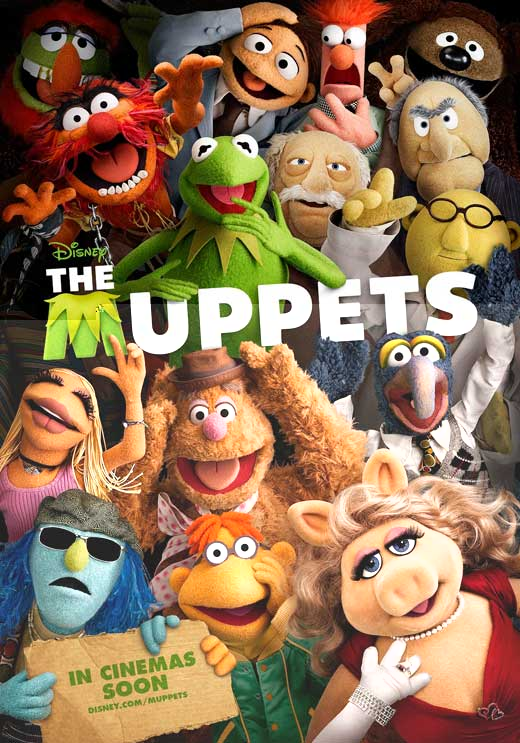 The Muppets (2011) DVDRip 400MB