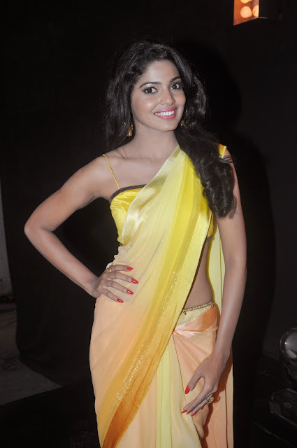Actress Pooja Sawant Saree Photos