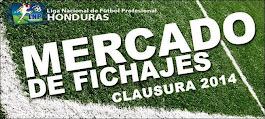 Transferencias del torneo clausura 2014 de Honduras