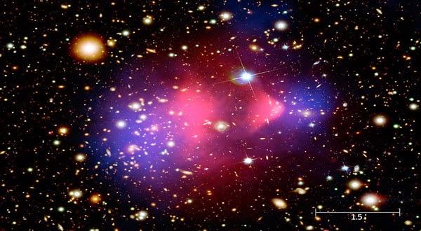 Ilmuwan Pelajari Misteri Materi Gelap di Inti Galaksi