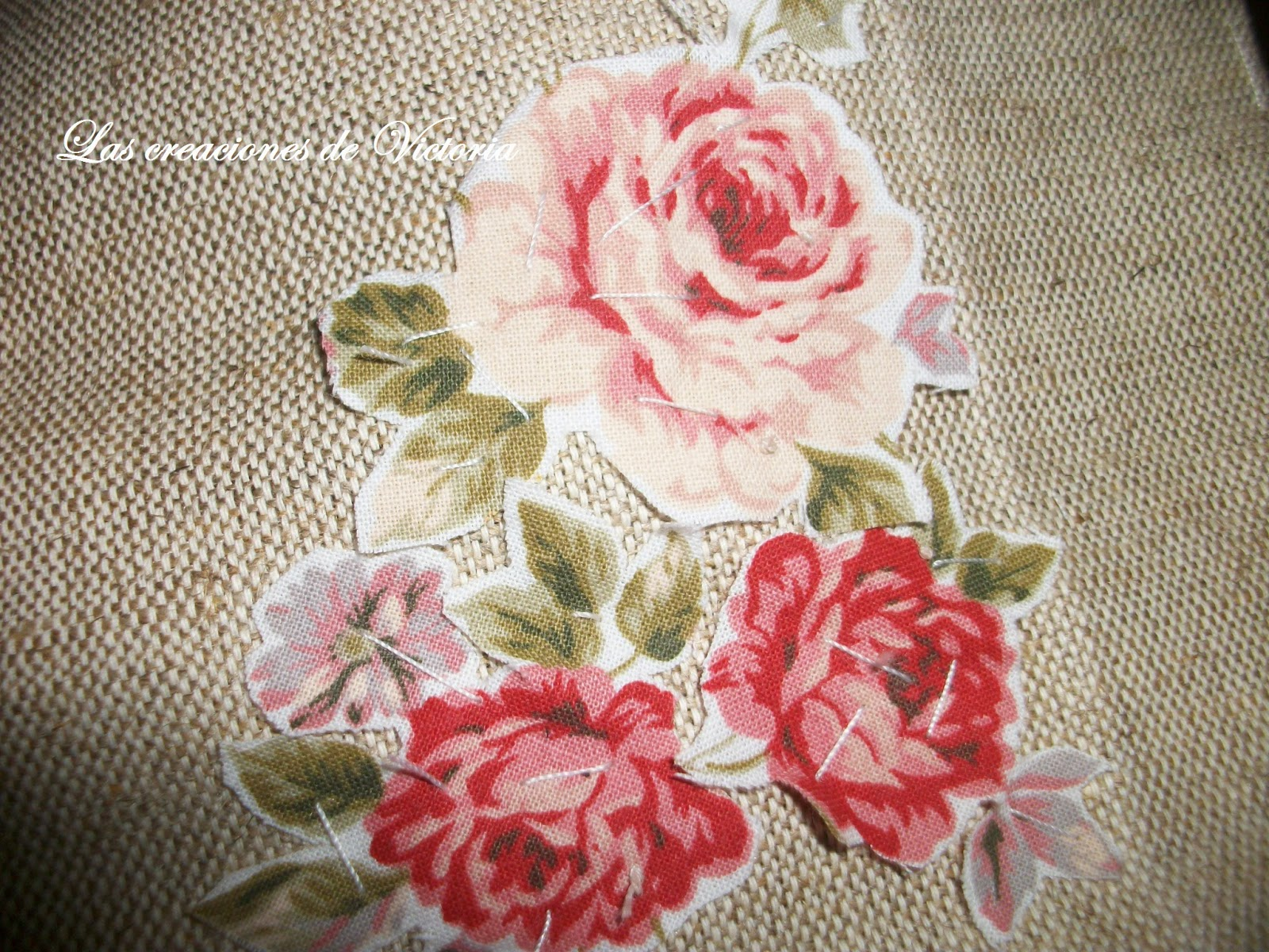 Las creaciones de Victoria.Vintage. Guarda-infusiones de patchwork