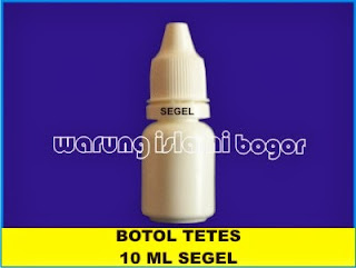 Botol Tetes Mata Eye Drop Segel 10ml