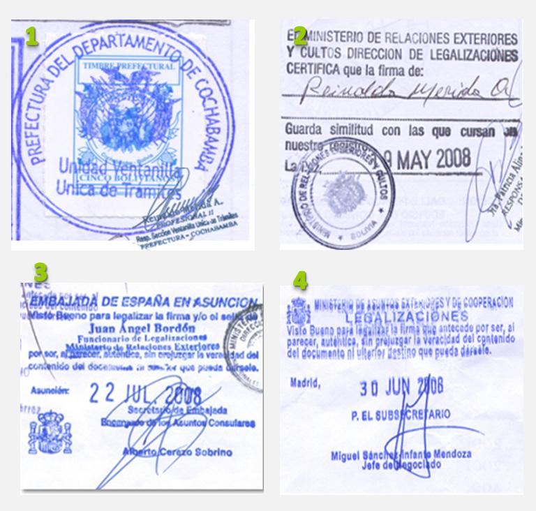 Legalizacion Via Diplomatica