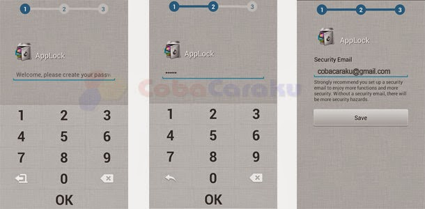 Cara Kunci Pesan SMS, BBM, Video, Foto di Android