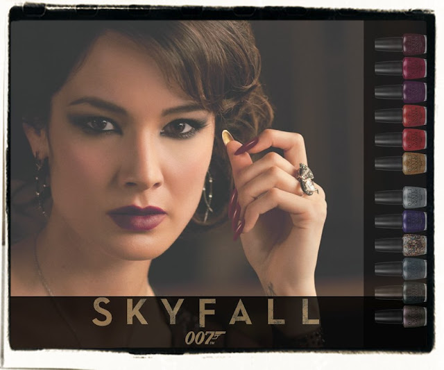 Nite Lite Book Reviews: OPI James Bond Skyfall Collection