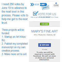 Vote for Mary's Fine Art