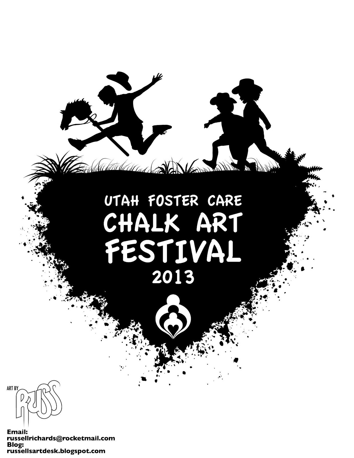 Shirt design utah - I Entered T Shirt Contest For The Utah Foster Care Chalk Art Festival Coming Up This June My Design Won The Theme For This Year S Chalk Art Festival Is