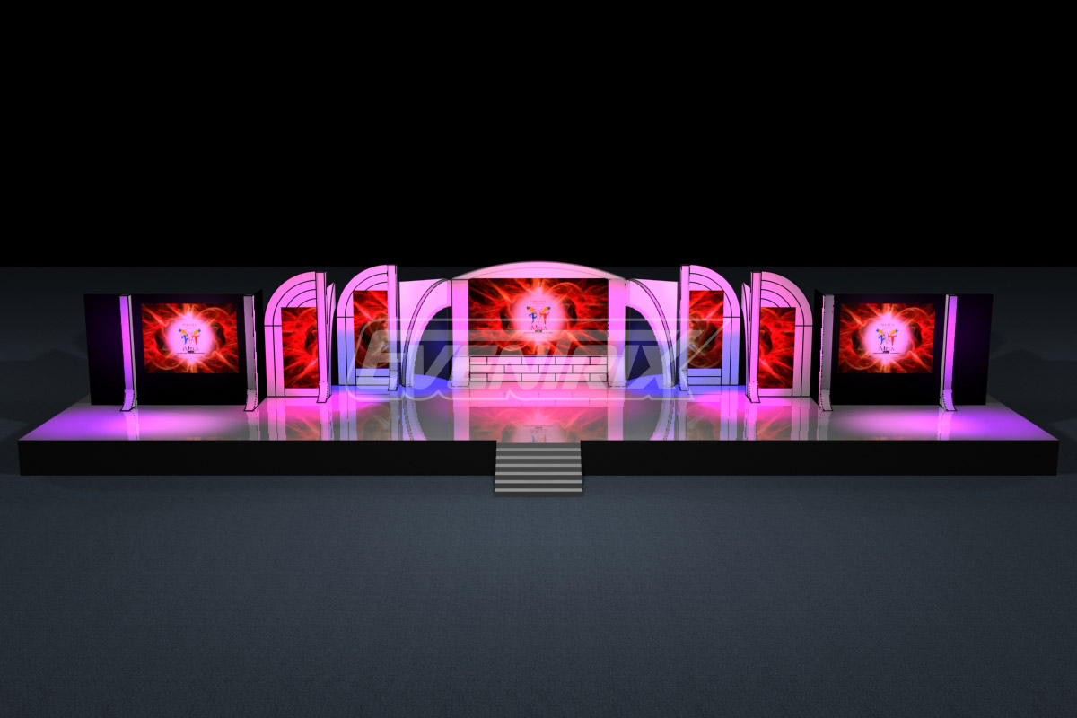 3d event backdrop design the image kid 3d design