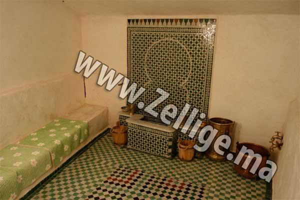 salle de bain hammam en zellige mosaque catalogue 2013 - Zellige Marocain Salle De Bain