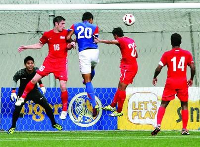 U23 Singapore vs U23 Malaysia