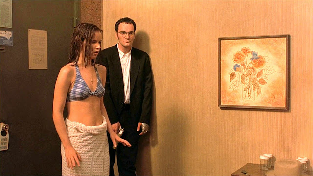Juliette Lewis and Quentin Tarantino in From Dusk Till Dawn