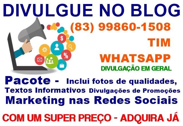 DIVULGUE NO BLOG LIGUE (83) 99860-1508