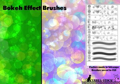 pinceles de burbujas para photoshop