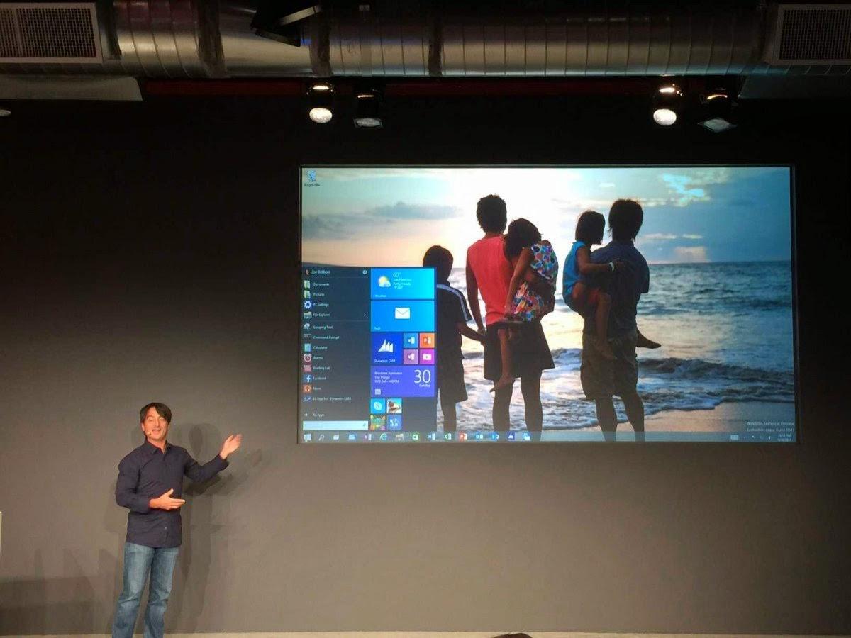 Microsoft Announce Windows 10