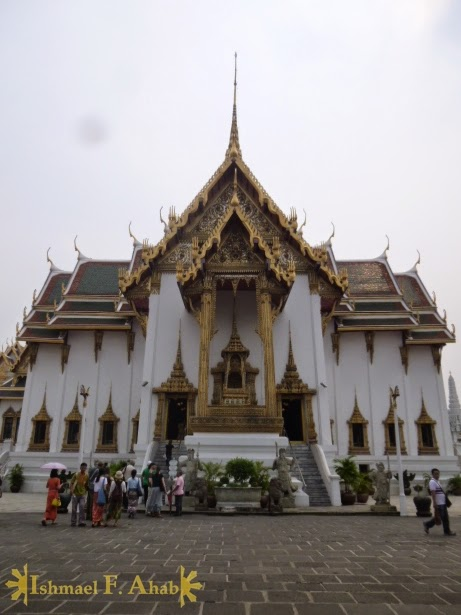Phra Thinang Dusit Maha Prasat in Bangkok Grand Palace