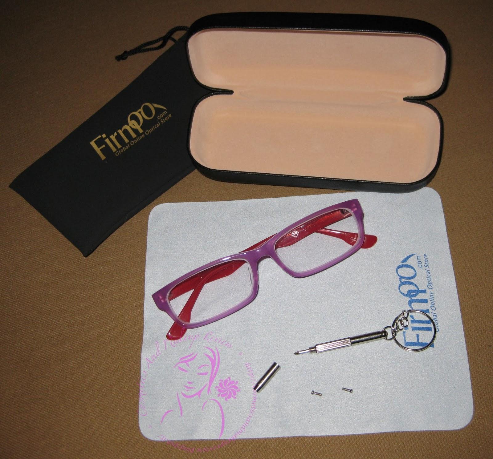Firmoo - Custodie, panno, kit riparazione e occhiali