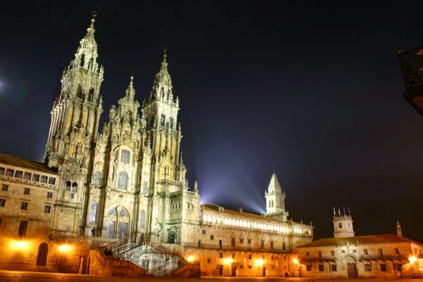 favorite places at Spain the Santiago de Compostela