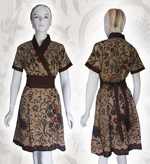 model baju batik solo
