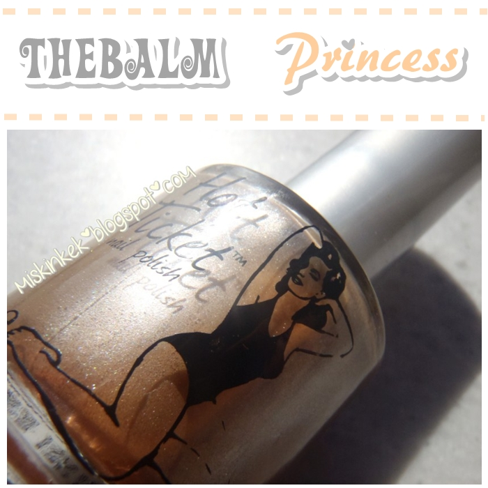 the balm princess nail polish