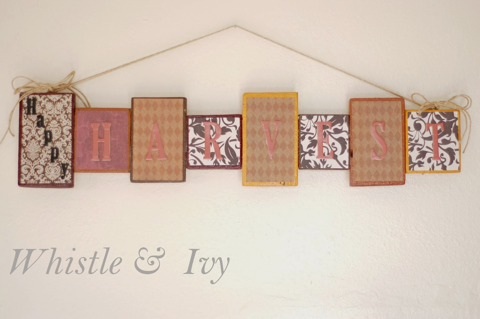 Thanksgiving Wall Decor - Whistle and Ivy
