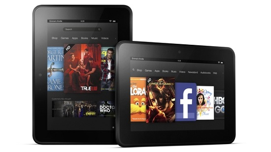 top 10 melhores tablets 2013 amazon kindle fire hd