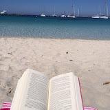 Mi rilasso leggendo a....