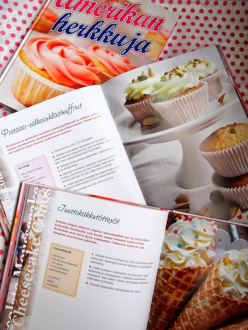 Maistiaisia kirjan sivuilta