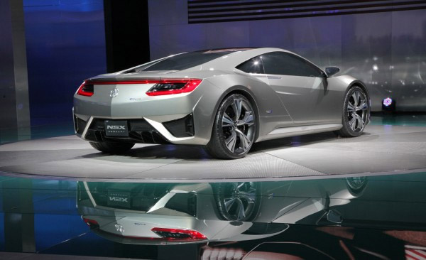 2010 Acura NSX sketches photo - 1
