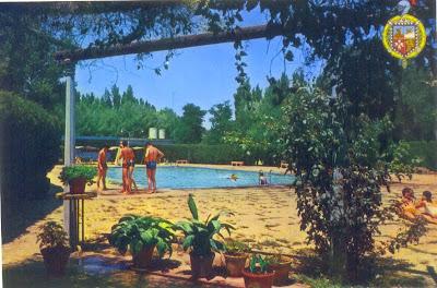 piscinas de Binéfar. Año 1970
